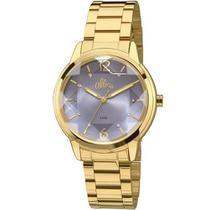 Relógio Feminino Analógico AL2036CJ/4A Dourado - Allora -