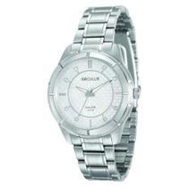 Relógio Feminino Analógico Seculus 20381L0SVNA2 - Cromado -