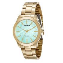 Relógio Feminino Analógico Seculus 20389LPSGDA3  Dourado -
