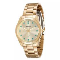 Relógio Feminino Analógico Seculus 20390lpsgda2 -