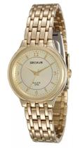Relógio Feminino Analógico Seculus 25537LPSVDA1  Dourado -