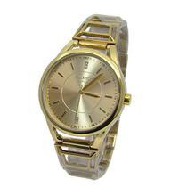 e865c37eac3 Relogio feminino atlantis b661g dourado fundo dourado