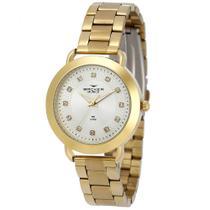Relógio Feminino Backer 3987145F - Dourado -