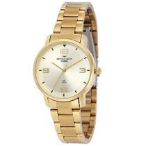 Relógio Feminino Backer Analógico 10267145F - Dourado -