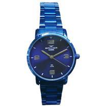 Relógio Feminino Backer Analógico 10269113F-AZ - Azul -