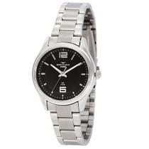 Relógio Feminino Backer Analógico 10272123F - Prata -
