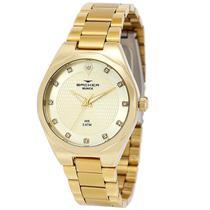 Relógio Feminino Backer Analógico 12007145F - Dourado -