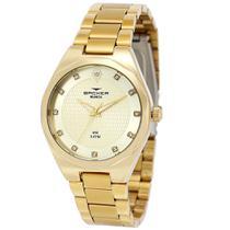 ae77cbf6d13 Relógio Feminino Backer Analógico 12007145F - Dourado