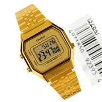 Relogio Feminino Cassio Vingate Digital Dourado LA680WGA-9DF -