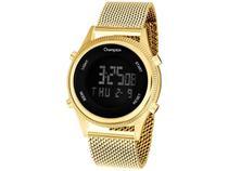 Relógio Feminino Champion Digital Esportivo - CH48082H Dourado