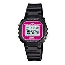 7efaba6e604 Relógio Feminino Digital Casio LA-20WH-4ADF - Preto Lilás