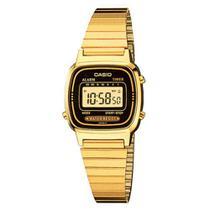 2ecc4870694 Relógio Feminino Digital Casio LA670WGA1DF - Dourado