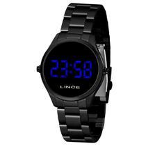 Relógio Feminino Digital Led Lince MDN4617L DXPX -