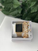 Relógio Feminino Digital pulseiras - vilasmart