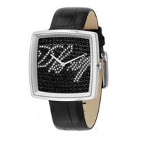 Relógio Feminino DKNY Analógico fundo preto com cristais -