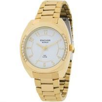 Relógio Feminino Dourado Backer/ 3354145F -