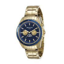 Relógio Feminino Dourado Seculus Prime 28709LPSVDA1 -