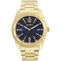 761be96cf9e01 Relógio Feminino Euro EU2035YMO 4A 45mm Aço Dourado