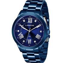 Relógio Feminino Lince Analógico LRAJ046L D3DX Azul -