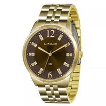 Relógio Feminino Lince Analógico Lrgj044l N2kx - Dourado -