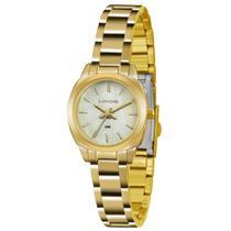 Relógio Feminino Lince Clássico Lrg4436l B1kx Dourado -