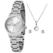 Relógio Feminino Lince LRMH143L KZ02 Pulseira de Aço Prata -