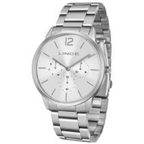 Relógio Feminino Lince Prata Multi Função LMMJ087LS2SX -