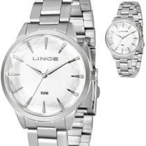 Relógio Feminino Lince Prateado Original LRM4563L S1SX -