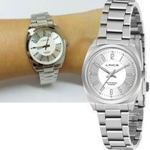 Relógio Feminino Lince Prateado Original Lrmh140l S2sx -