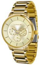 Relógio Feminino Lince Quartz Lmgj054l C1kx Dourado -