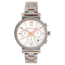 Relógio Feminino Michael Kors Essential Sofie Bicolor MK6558/1KN -