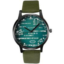 4884512a7f4 Relógio Feminino Miler Matemática Calculo A8292 - Verde