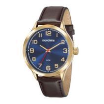 Relógio Feminino Mondaine 83445GPMVDH2 - Dourado/Marrom -