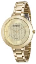 Relógio Feminino Mondaine 99172LPMVDE1 42mm Aço Dourado -