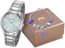 Relógio Feminino Mondaine Analógico  - 53738L0MGNE4K com Pulseira