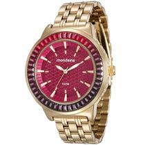 Relógio Feminino Mondaine Analógico 76624LPMVDE2 Fundo Vermelho -