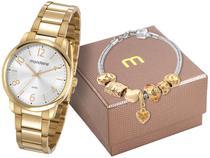 Relógio Feminino Mondaine Analógico - Resistente à Água 53738LPMGDE1K com Pulseira