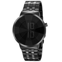 Relógio Feminino Preto Led Digital 77062LPSVPS3 Seculus -
