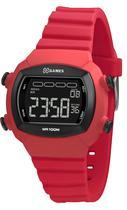 Relógio Feminino Quadrado Digital A Prova D'água Rosa Silicone Com Alarme e Cronômetro X-Games Original e Nota Fiscal -