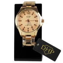 Relógio Feminino Rosê DHP Prova D' Água -
