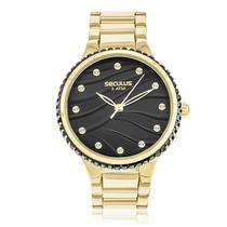 Relógio Feminino Seculus 13018LPSVDS3 Dourado -