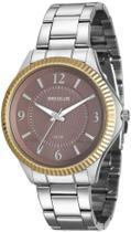 Relógio Feminino Seculus 20545L0SVNS3 Prata com Dourado -