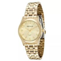 Relógio Feminino Seculus Analógico 20399lpsvda1 - Dourado -