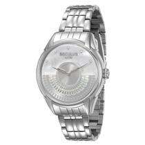Relógio Feminino Seculus Analógico 28653L0SVNA2 - Cromado -