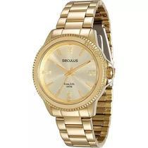 Relógio Feminino Seculus Analógico Fashion 28673LPSVDA1 -