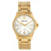 Relógio Feminino Seculus Dourado 20463lpsvda1 -