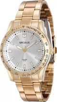 Relógio Feminino Seculus Dourado 25541lpsvda1 -