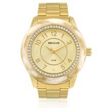 Relógio Feminino Seculus Moda Analógico 60661LPSVDS1 Dourado -