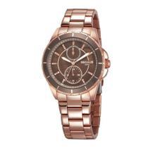 Relógio Feminino Seculus Multifunção 28972LPSVRS1 - Rosê -