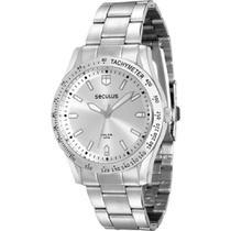 Relógio Feminino Seculus Prateado 25541l0svna2 -